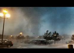 Enlace a Espectacular tornado grabado en Nueva Jersey