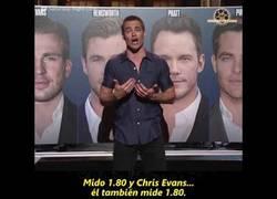 Enlace a El actor Chris Pine está harto de que lo confundan con otros Chris