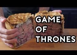 Enlace a Cocinando esta deliciosa receta que apareció en Game of Thrones