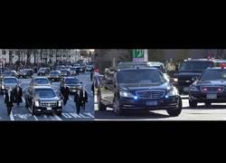Enlace a El increíble despliegue que lían a su alrededor Obama y Putin