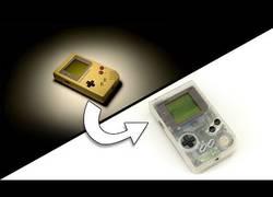 Enlace a De vieja consola Game Boy a una nueva y reluciente portatil