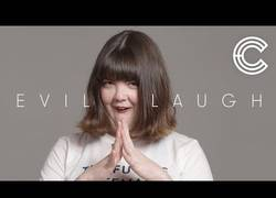 Enlace a 100 personas imitan la voz de como creen que es la risa del Diablo