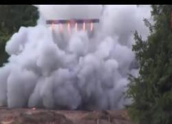 Enlace a El despegue de este enorme cohete hecho a base de fuegos artificiales