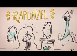 Enlace a [SPOILERS] Esta versión versión musical de Rapunzel explicada con caricaturas te destroza el cuento