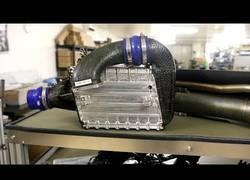 Enlace a Así es el funcionamiento de un intercooler del coche de Fórmula 1