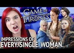 Enlace a Esta chica es capaz de imitar todas las mujeres de Juego de Tronos