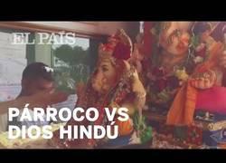 Enlace a Dimite un párroco de Ceuta por permitir entrar en una iglesia al dios hindú Ganesh