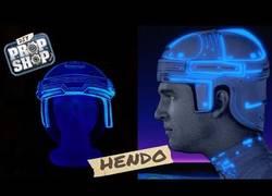 Enlace a Así se crea el casco de Tron