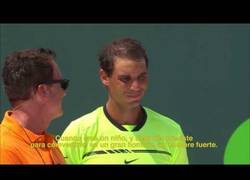 Enlace a Las respuestas más divertidas de los tenistas hacia los reporteros