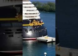 Enlace a El capitán Goofy no calculó bien con el barco