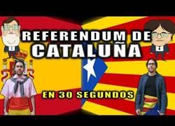 Enlace a El referéndum catalán explicado en 30 segundos