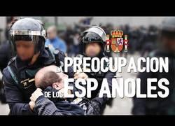 Enlace a La preocupación de los españoles en 2017, por Forfast