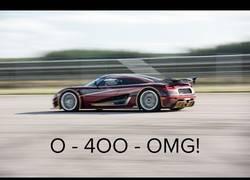 Enlace a De esta forma ha conseguido el Koenigsegg Agera RS superar al Chiron de 0 a 400 y a 0 km/h en 36,44s