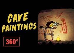 Enlace a VÍdeo en 360 grados, explorando el significado de las pinturas rupestres [Inglés]