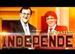 Enlace a La conversación de Puigdemont y Rajoy parodiada por el gran Trazzto