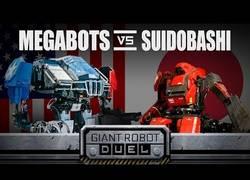 Enlace a Observa la primera batalla entre Robots Gigantes (USA vs Japón) [Inglés]