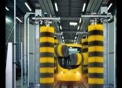 Enlace a Misterio resuelto: Así se lavan los trenes