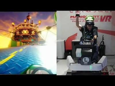 Jugando al Mario Kart a otro nivel con Realidad Virtual