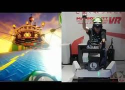 Enlace a Jugando al Mario Kart a otro nivel con Realidad Virtual
