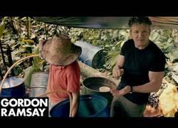 Enlace a Gordon Ramsay aprende a cómo hacer cocaina