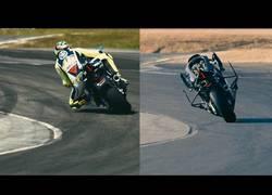 Enlace a MotoBOT se enfrenta a Valentino Rossi ¿Quién ganará?