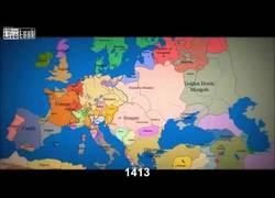 Enlace a La evolución de las fronteras europeas en los últimos 1.000 años, resumida en tres minutos