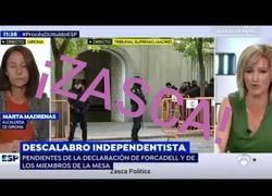 Enlace a Susana Griso dejó sin palabras a la alcaldesa proindependencia de Girona