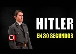 Enlace a El resumen de la historia de Hitler en 30 segundos