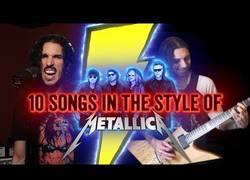 Enlace a Interpretando 10 canciones clásicas con el estilo de Metallica