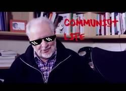 Enlace a Consejos de Julio Anguita a la juventud y a los ''rebeldes de pacotilla''