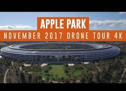 Enlace a Graban el nuevo Apple Park con dron y en 4K y es espectacular