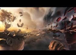 Enlace a Riot Games presenta esta increíble cinemática en un contexto bastante poco común