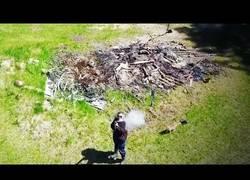 Enlace a Drones que terminan derribados en pleno vuelo
