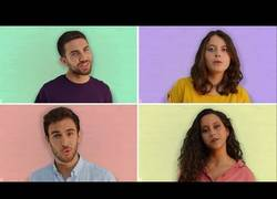 Enlace a Este quarteto canta una cancion que les define a la perfección acapella