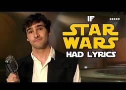 Enlace a Poniéndole letra a la mítica 'Cantina' de Star Wars
