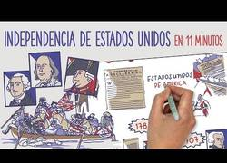 Enlace a La Independencia de Estados Unidos resumida en 11 minutos