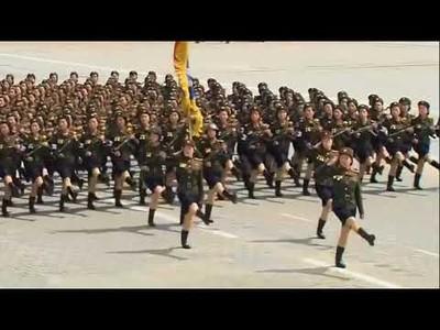 El ejército norcoreano gana mucho con la música de los Bee Gees de fondo
