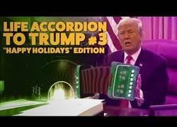 Enlace a Donald Trump y su acordeón han vuelto por Navidad