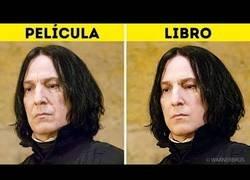 Enlace a Las diferencias de los personajes de Harry Potter entre los libros y la película