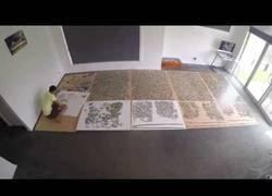 Enlace a Crea un timelapse mientras monta un puzzle de 33.600 piezas