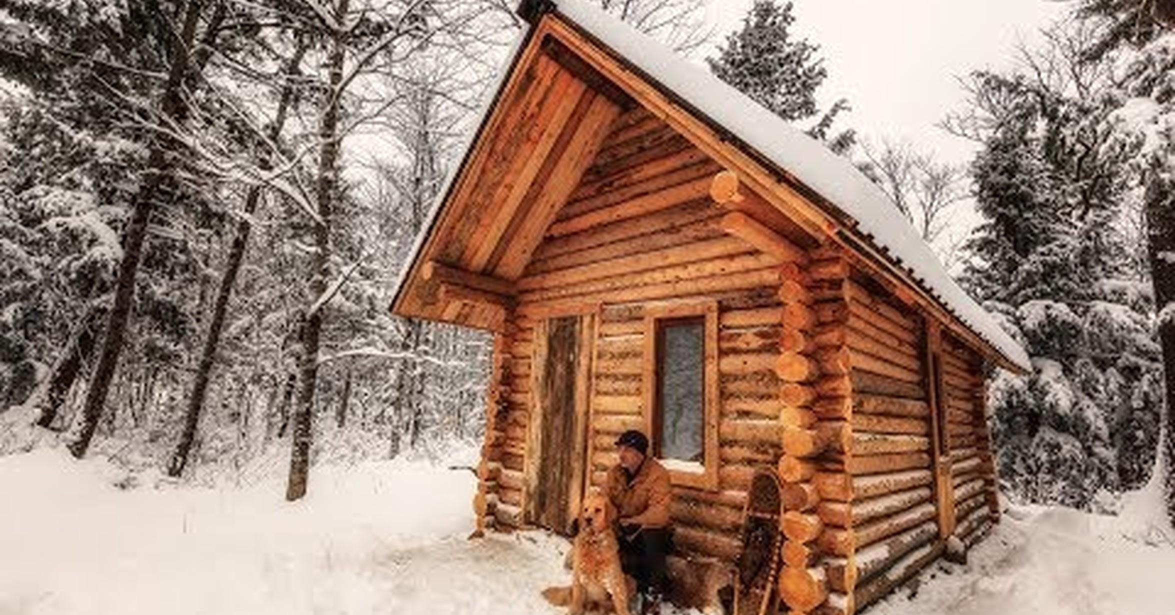 No tengo tele este t o graba como se construye de cero una casa de madera en mitad del bosque - Como se construye una casa ...
