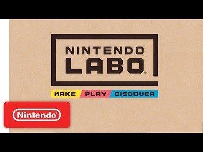 Nintendo saca su último invento a base de cartón