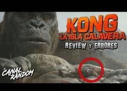 Enlace a Errores de Kong La isla Calavera