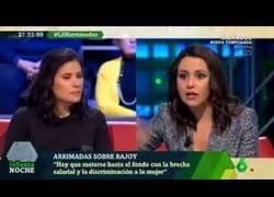 Enlace a Preguntan a Inés Arrimadas sobre una manifestación feminista y esta es su respuesta