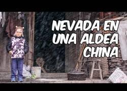 Enlace a La llegada de la nieve a una aldea china