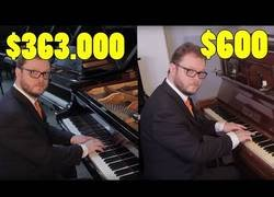 Enlace a La diferencia de sonido entre un piano barato y uno muy caro