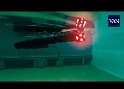 Enlace a Inventan una aterradora 'serpiente' robot acuática
