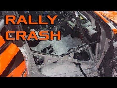 Que un gran accidente en un rally no te impida seguir la carrera