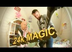 Enlace a Interpretan 24k MAGIC de Bruno Mars como si fuese de Metal y el resultado es brutal