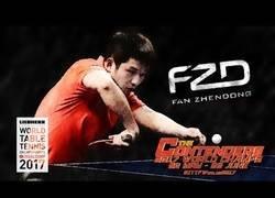 Enlace a Fan Zhendong, el Bruce Lee del tenis de mesa